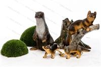 декоративные фигуры животных для сада