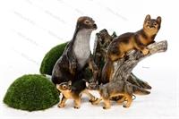 декоративные фигурки животных для сада