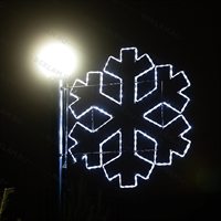 световые уличные консоли