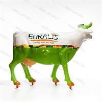 садовая фигура корова большая
