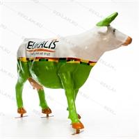 купить садовую фигуру коровы