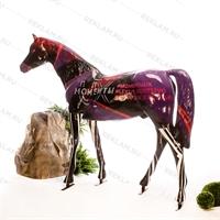 купить садовая фигура лошади большая