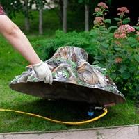 декоративные крышки на канализационные люки