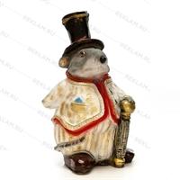 """Новогодняя фигура """"Крыса"""" 40 см полистоун - фото 18171"""