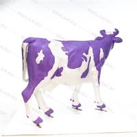 "Ростовая фигура корова ""Milka"", пластик, 155 x 215 см. - фото 18445"