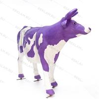 "Ростовая фигура корова ""Milka"", пластик, 155 x 215 см. - фото 18446"