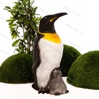 Пингвин с пингвинёнком - фото 18651