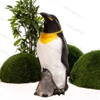 Пингвин с пингвинёнком - фото 18652