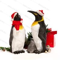 Пингвин с пингвинёнком - фото 18657