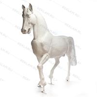 Ростовая фигура Конь рысак, стеклопластик, 230 x 287 см. - фото 18693