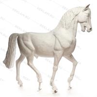 Ростовая фигура Конь рысак, стеклопластик, 230 x 287 см. - фото 18695