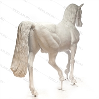 Ростовая фигура Конь рысак, стеклопластик, 230 x 287 см. - фото 18696