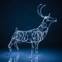 Коллекция световых оленей - фото 19141