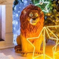 рекламная фигура лев