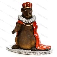 Арт объект мышиный король