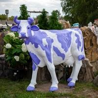 "Ростовая фигура корова ""Milka"", пластик, 155 x 215 см. - фото 20167"