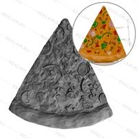Рекламная фигура кусок Пиццы