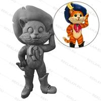 Рекламная фигура кот в сапогах
