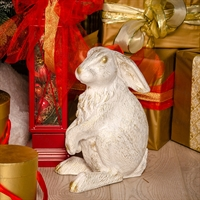 новогодняя фигура заяц