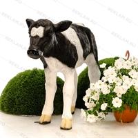 ростовая фигура теленок