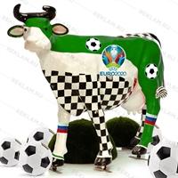 Корова стеклопластик футбол