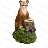 Рекламная фигура Медвежонок на пне