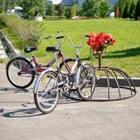 Круглая подставка для велосипедов
