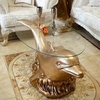 Стол с дельфином