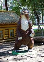 Объёмная скульптура Медведя
