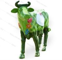 Рекламная фигура Корова -зеленая