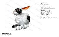 фигура из полистоуна дёшево заяц ушастик F07429