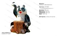 мебель из полистоуна светильник панда F07285