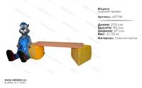мебель из полистоуна лавка сырный привал U07758