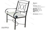кованая мебель для кафе стул 303-11