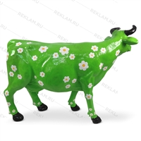 фигура коровы из стеклопластика