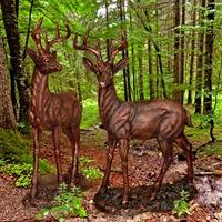 парковая скульптура под бронзу на заказ