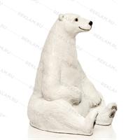 фигуры для зоопарка белый медведь