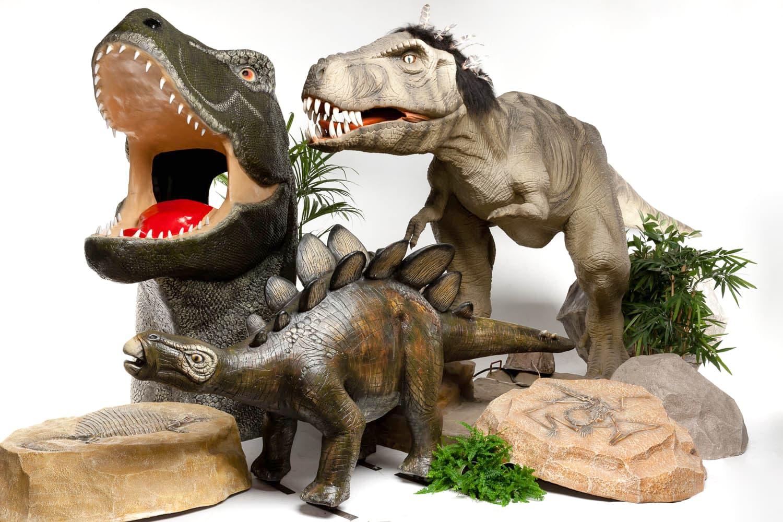 Фигуры динозавров